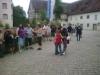 Ankunft am Schloss