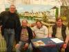 Ulrich Hartmann, Karl-Martin Lang, Ewald Dietz und Wolfgang Wenzlawski